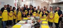 IGO employees participated in OzHarvest's Cooking for a Cause - cooking 150 meals for those in need